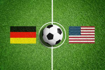 Deutschland vs USA