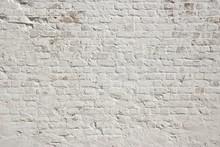 Blanc grunge fond mur de briques