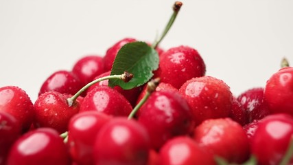 Ripe cherry berries