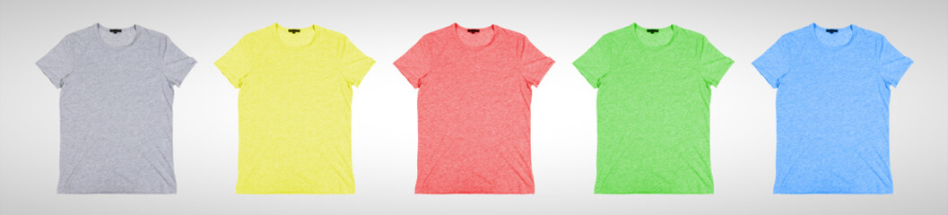 many color  tshirt