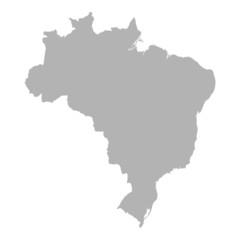 landkarte brasilien I