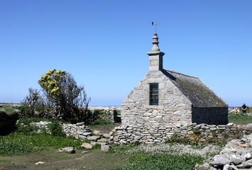 chapelle saint corentin,île de sein,bretagne