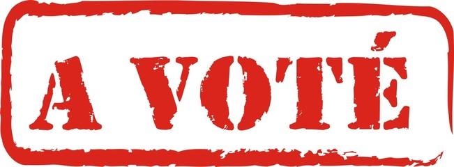 tampon a voté