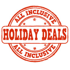 All inclusive, holiday deals stamp