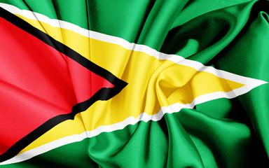 Guyana Flagge