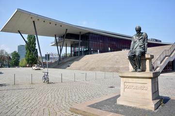 Dostojewskij-Denkmal in Dresden / Sachsen