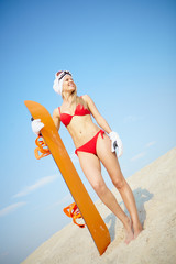 Sandboarder