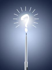 Frage Fragezeichen fragen Nachdenken Kreativität
