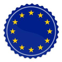 Plakette Europa