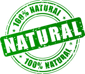 Vector natural stamp