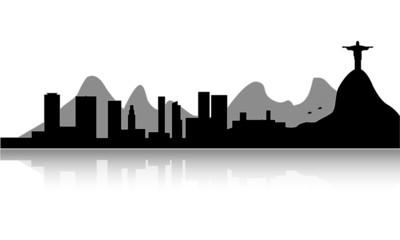 skyline di Rio