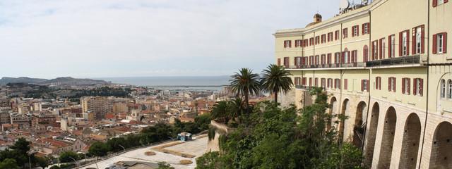 Vista su Cagliari dal quartiere Castello