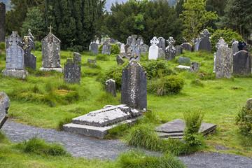 Friedhof in Glenalough, Irland