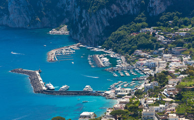 Marina Grande, Capri island, Italy