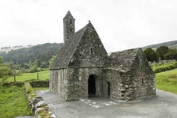 Kapelle in Glendalough, Irland