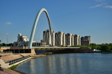 A city view in Astana / Kazakhstan