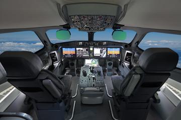 Modern airliner