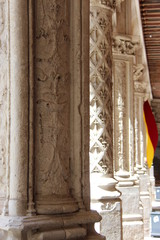 Château de Blois : colonnes royales