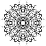 Mandala. Indian decorative pattern.