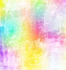 Abstract grunge style color splash background
