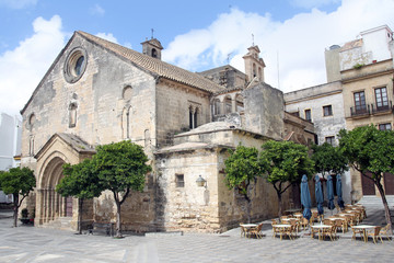 Church of San Dionisio in Jerez de la Frontera, Spain