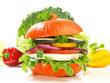 Gemüse Burger