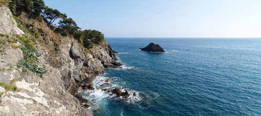 The sea at Monterosso al Mare