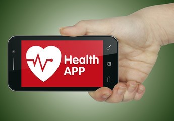 Health APP. Keyboard