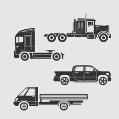 Set of trucks