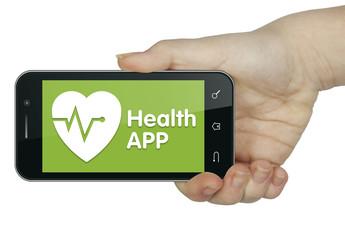 Health APP. Mobile phone