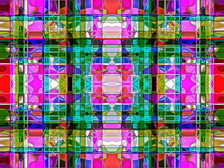 Geometric abstract multicolored  ornament background  . A-0163.