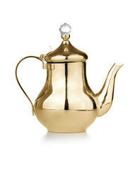 Golden Antique Teapot