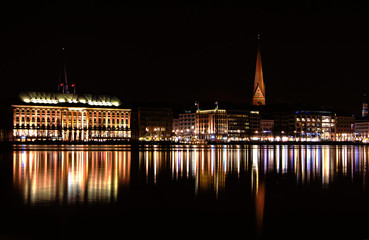 Hamburg bei Nacht II