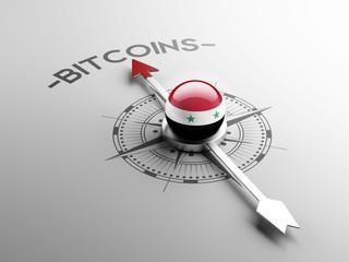Syria  Bitcoin Concept