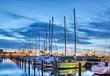 Leinwanddruck Bild - Segelboote