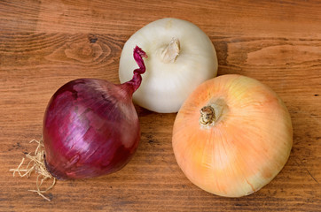 Three Large Onions