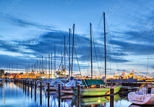 canvas print picture Segelboote