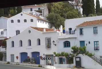 Frigiliana one of the beautiful white villages of Andalucia
