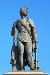 Monument of prince Grigory Potemkin-Tavricheski in Kherson