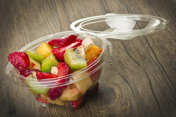 Mix of fresh fruit ready take away