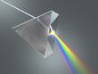 Leinwanddruck Bild - Crystal Prism