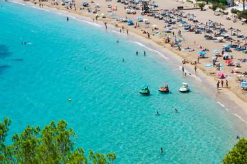 Ibiza Cala de Sant Vicent caleta de san vicente beach turquoise