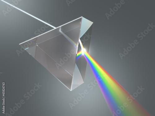 Leinwanddruck Bild Crystal Prism