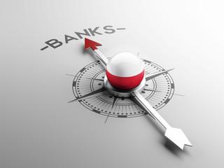 Poland Banks Concept