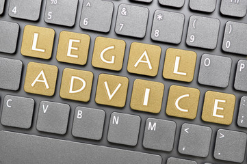 Legal advice on keyboard