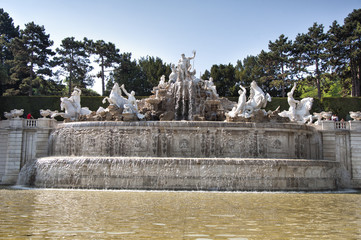 The Fountain in Belvedere Gardens