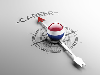 Netherlands Career Concept