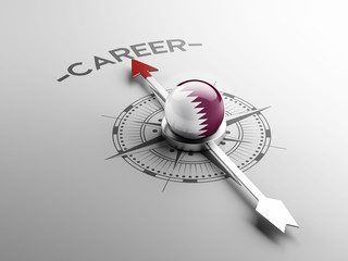 Qatar Career Concept