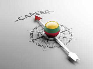 Lithuania Career Concept