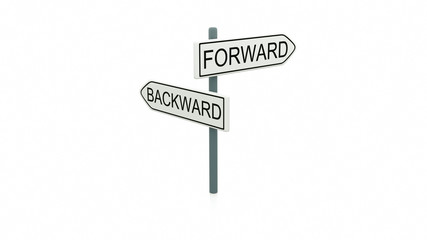 Choice between forward and backward
